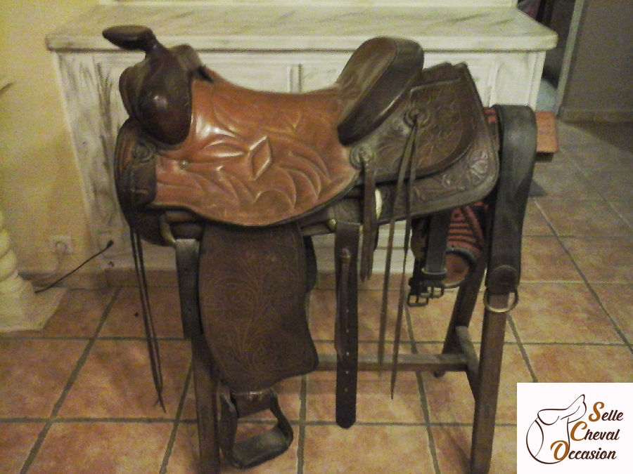 Selle Western Saddle King Of Texas Selle Cheval Occasion