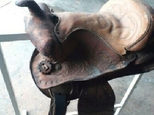 Selle de cheval cow-boy en cuir western