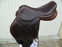 SELLE EQUITATION - TIME RIDER EVENTIME 17' + BAVETTE + 2 ETRIVIERES