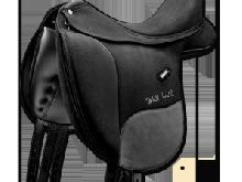 WINTEC Isabell CAIR original Selle de dressage Noir 17,5