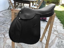 Selle equitation mixte 17,5