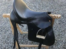 Selle de dressage BIEMAN RIDING (hollandaise), taille 18 TBE