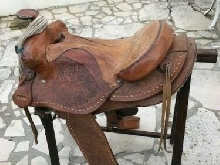 Belle SELLE WESTERN  en cuir - Horse Saddle Leather