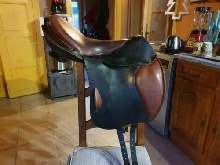 Selle equitation cuir