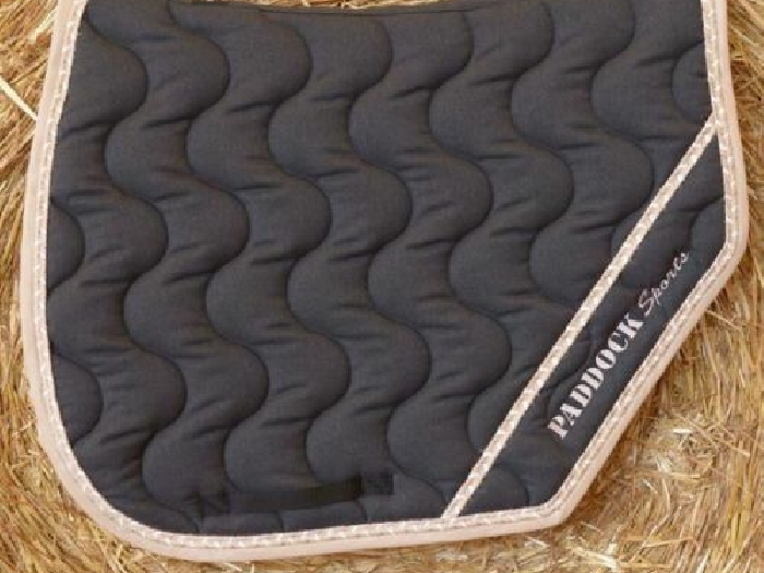 TAPIS SELLE PADDOCK SPORT CHEVAL CSO CONCOURS EQUITATION TBE