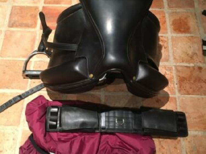SELLE EQUITATION AULION CUIR