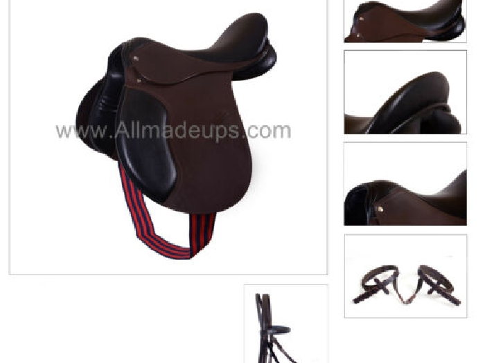 Multi-Usage Anglais Selle Cuir - Paquet